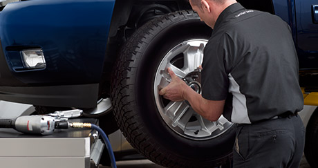 Ask about our Tire Price Match Guarantee at Ron Westphal Chevrolet in Aurora IL!