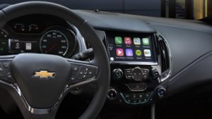 2016 Chevy Cruze Mylink review interior