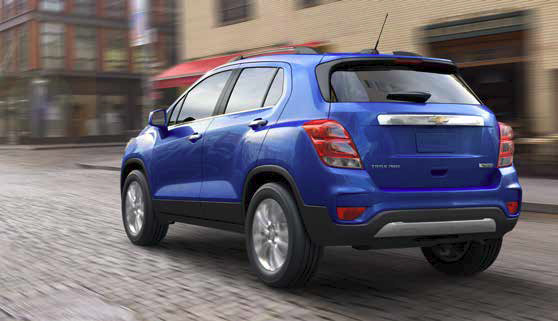 2017 Trax restyled