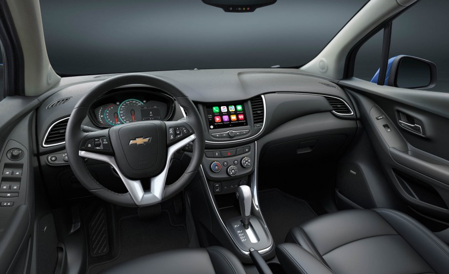 2017 Chevy Trax Changes Dashboard