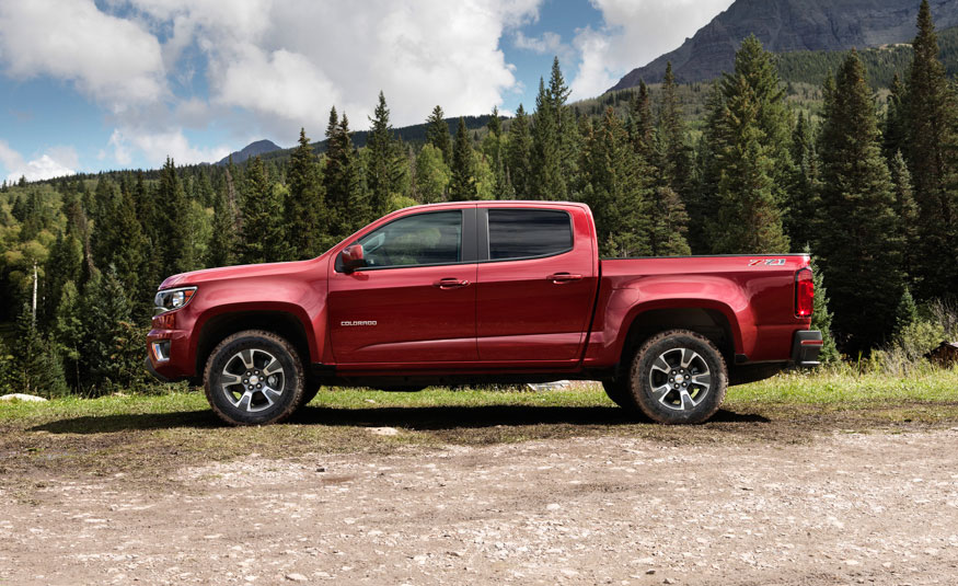 2017 Chevrolet Colorado changes