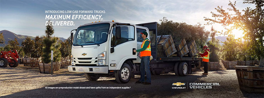Chevrolet's New Low Cab Forward Trucks