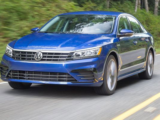 The 2017 Volkswagen Passat will see a drop in gas mileage under the new EPA ratings.