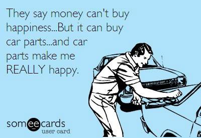 Car parts make me happy-meme