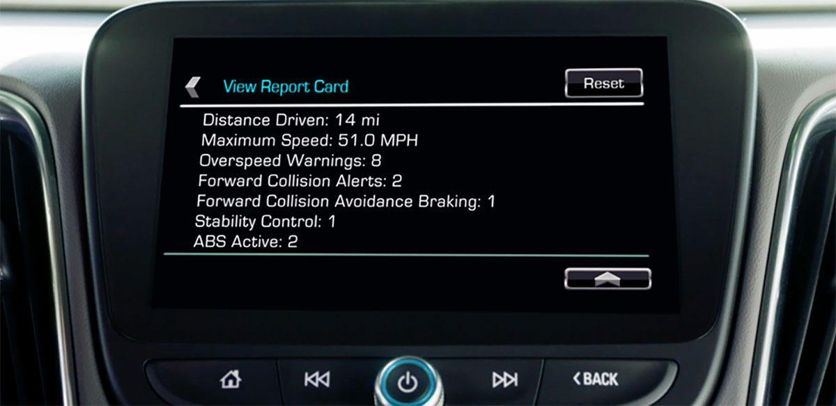 Chevrolet Teen Driver Technology