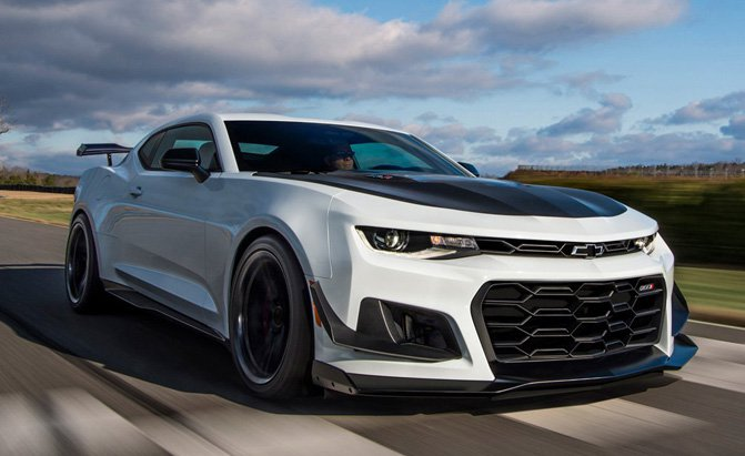First 2018 Chevrolet Camaro ZL1 1LE Fetches $250K at Auction » AutoGuide.com News