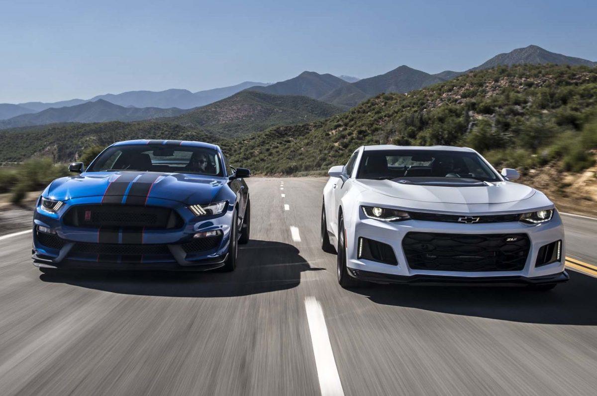 2017 Chevrolet Camaro ZL1 vs. 2017 Ford Mustang Shelby GT350R: The Forever War – Motor Trend