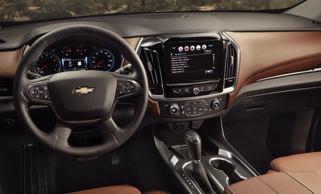 2018 Chevrolet Traverse Priced Dash