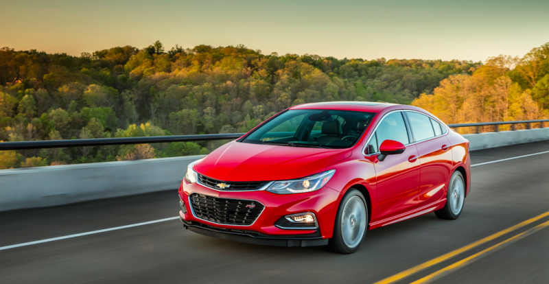 The 52 MPG 2018 Chevrolet Cruze Diesel Will Start At $24,670