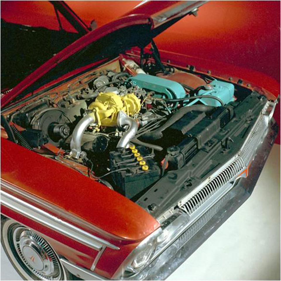 1962 Oldsmobile Jetfire - the first mass production vehicle to use a turbocharger