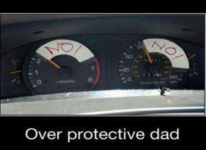 Old school teen driver