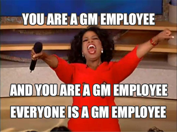 GM Employee Pricing for All
