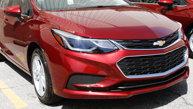 Cruze sales in January