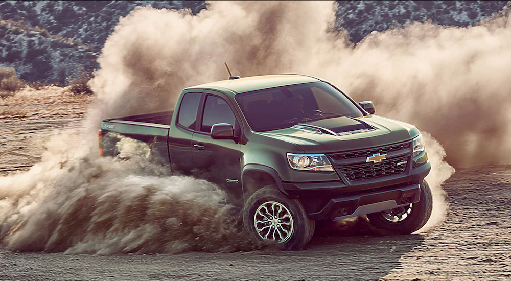 The perfect off road truck Chevrolet Colorado or Silverado