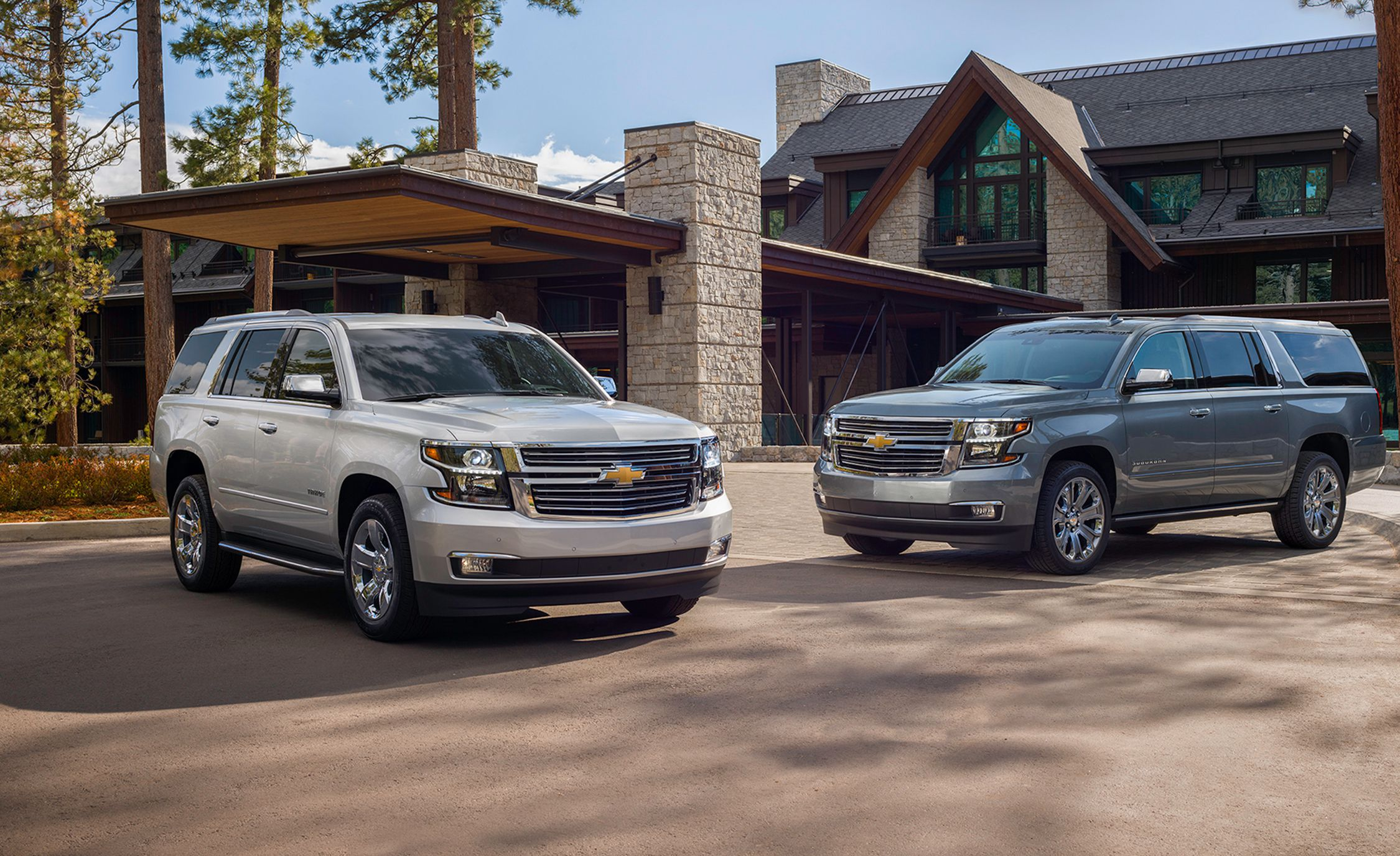 2019 Chevy Suburban and Tahoe