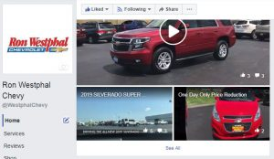 Visit Ron Westphal Chevrolet on Facebook