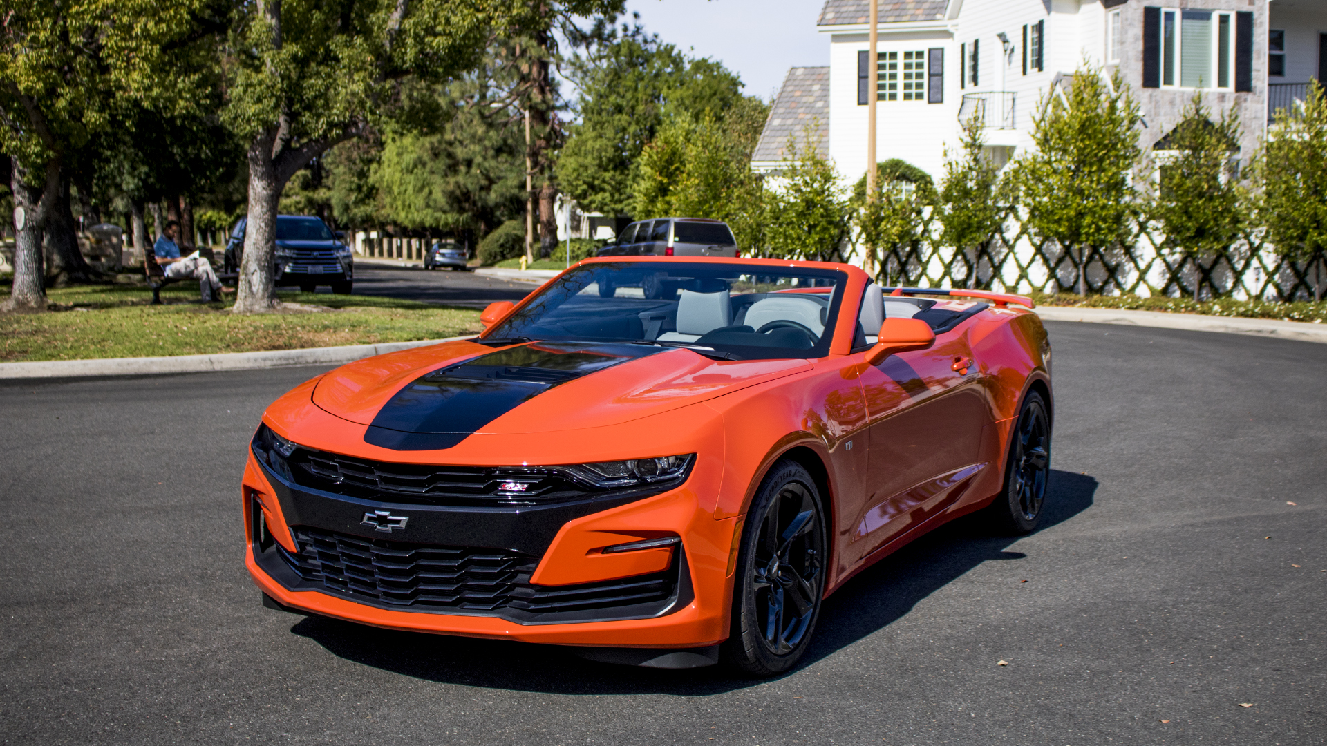 2019 Chevrolet Camaro SS First Drive Review driver's side