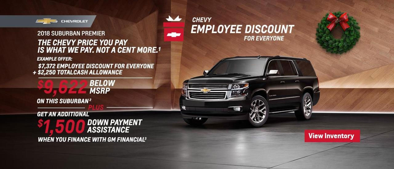 Chevy Suburban Sale
