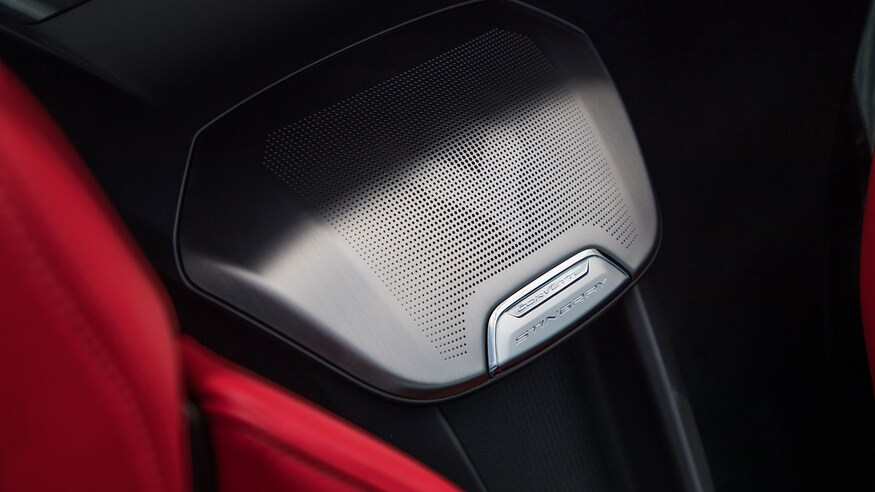 corvette c8 center speaker