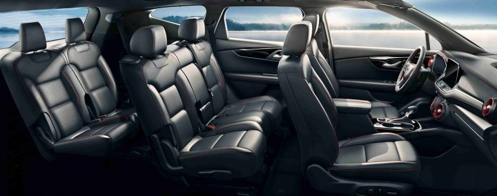 ron westphal chevy blog 2020-Chevrolet-Blazer-three-row-RS-model-China-Interior-009-3-rows-of-seats-720x284