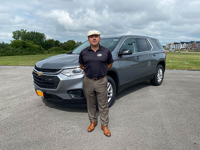 Jesse-Sanchez-and-2020-Chevy-Traverse