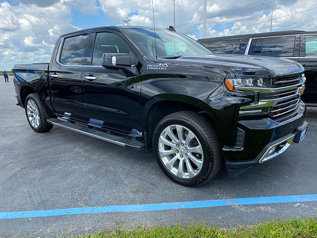 2019 GM Certified Chevrolet High Country Silverado available for immediate delivery at Ron Westphal Chevrolet
