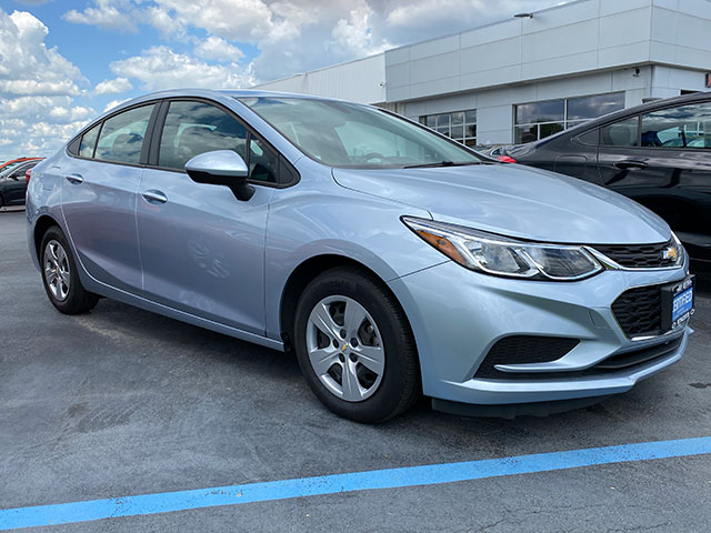 2017 GM Certified Chevy Cruze for sale at Ron Westphal Chevrolet in Aurora, IL.  RON WESTPHAL PRICE $15,895 O.B.O.  Stock #P40575