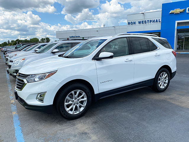 2018 GM Certified Chevy Equinox for sale at Ron Westphal Chevrolet.  WESTPHAL PRICE $20,895 O.B.O.  Stock #P40584