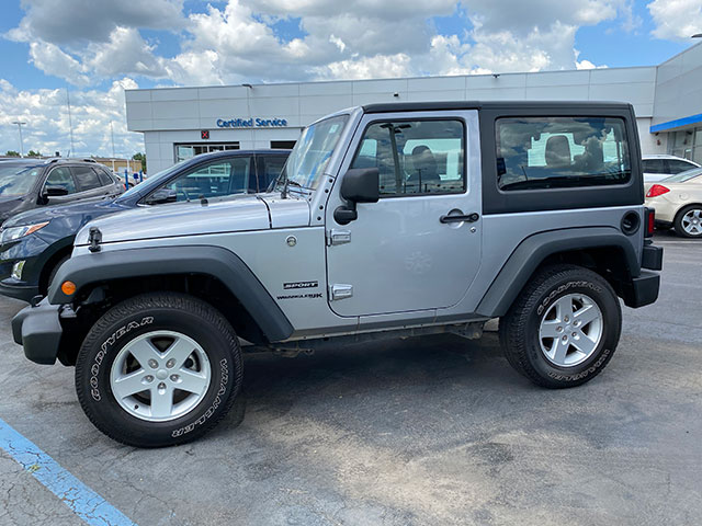 2018 Jeep Wrangler for sale at Ron Westphal Chevrolet.  WESTPHAL PRICE $26,895 O.B.O.  Stock #P40586
