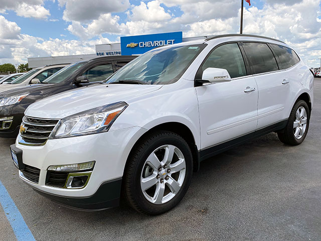 2017 GM Certified Traverse for sale Ron Westphal Chevrolet