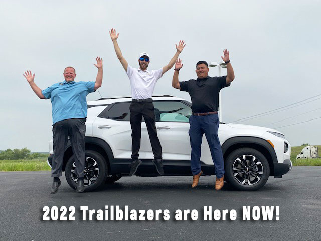 New 2022-trailblazers-for-sale-now at Ron Westphal Chevrolet in Aurora, IL